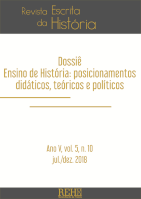Visualizar Ensino de História: posicionamentos didáticos, teóricos e políticos